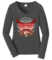 Ladies long sleeve tee