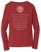 RLCVIII 'Raised on Vinyl' Long Sleeve Tee (Ladies) - VINYL-LADIES-S