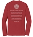 RLCVIII 'Raised on Vinyl' Long Sleeve Tee (Mens) - VINYL-MENS-S