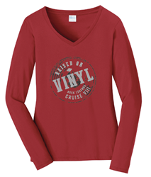 RLCVIII Raised on Vinyl Long Sleeve Tee (Ladies)